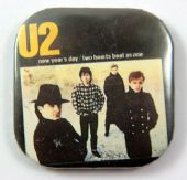 U2 - 'New Year's Day' Square Badge